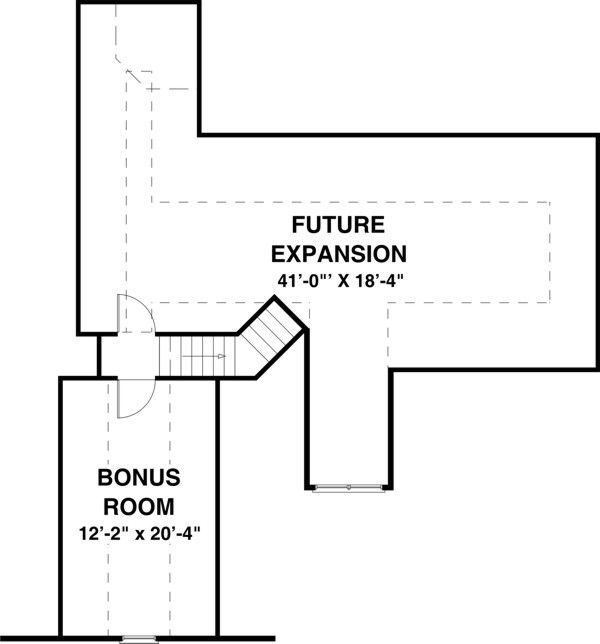Colonial Floor Plan - Other Floor Plan #56-590