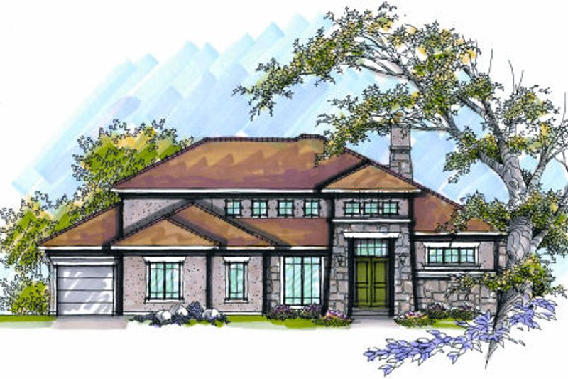 Dream House Plan - Traditional Exterior - Front Elevation Plan #70-994