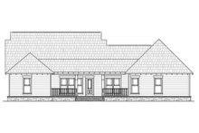 Dream House Plan - Traditional Exterior - Rear Elevation Plan #21-290