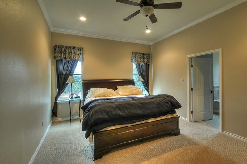 European Interior - Master Bedroom Plan #430-52 - Houseplans.com