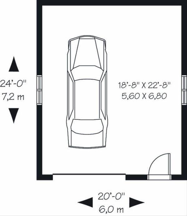 Traditional Floor Plan - Main Floor Plan Plan #23-769