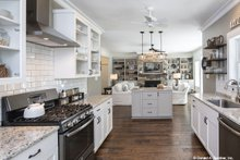 Home Plan - Country Interior - Kitchen Plan #929-670