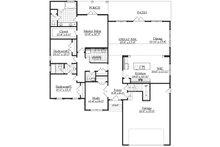 Ranch Floor Plan - Main Floor Plan Plan #1071-16