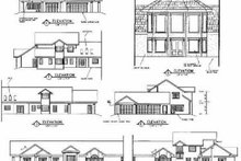 Dream House Plan - Traditional Exterior - Rear Elevation Plan #60-519