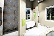 Bungalow Interior - Master Bathroom Plan #44-238