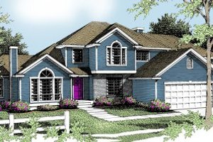 Traditional Exterior - Front Elevation Plan #94-201