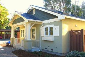 House Plan Design - Craftsman Photo Plan #485-2