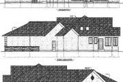Traditional Style House Plan - 2 Beds 2.5 Baths 2177 Sq/Ft Plan #409-103 Exterior - Rear Elevation