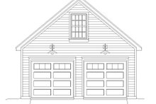 Dream House Plan - Contemporary Exterior - Front Elevation Plan #932-100