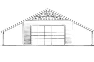 Traditional Exterior - Front Elevation Plan #117-659