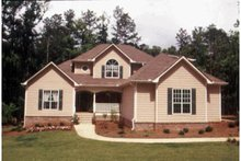 Home Plan - Traditional Exterior - Front Elevation Plan #20-2012