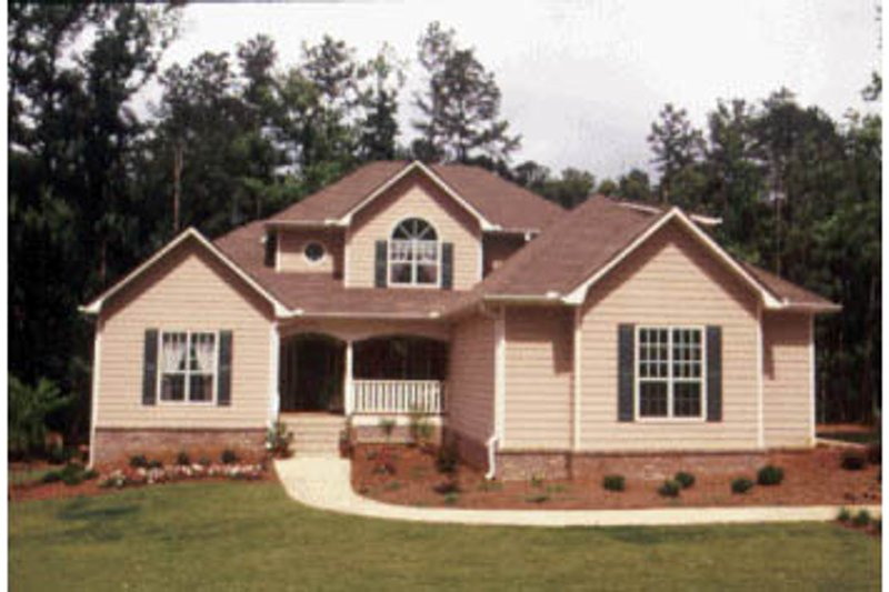 Traditional Exterior - Front Elevation Plan #20-2012 - Houseplans.com