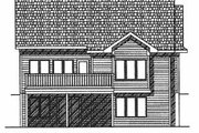 Traditional Style House Plan - 2 Beds 2 Baths 1760 Sq/Ft Plan #70-192 Exterior - Rear Elevation