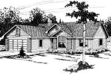 Traditional Exterior - Front Elevation Plan #124-291