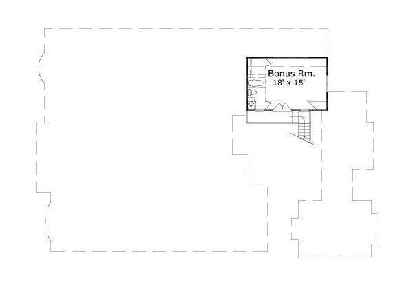 European Floor Plan - Other Floor Plan Plan #411-833