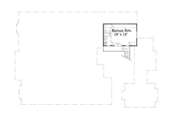 European Floor Plan - Other Floor Plan Plan #411-833