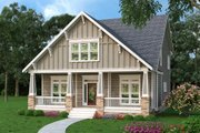 Bungalow Style House Plan - 4 Beds 2.5 Baths 2707 Sq/Ft Plan #419-275