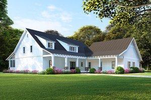 Farmhouse Exterior - Front Elevation Plan #923-107
