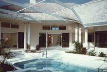 House Plan Design - Mediterranean Exterior - Outdoor Living Plan #930-40
