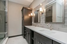 Dream House Plan - Ranch Interior - Master Bathroom Plan #70-1497