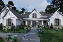 Dream House Plan - Farmhouse Exterior - Front Elevation Plan #120-265