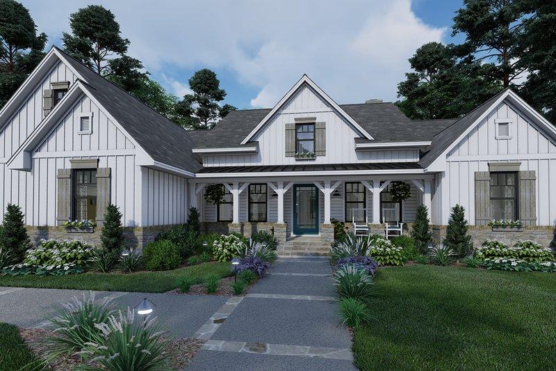 House Design - Farmhouse Exterior - Front Elevation Plan #120-265