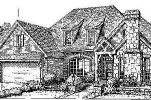 Colonial Exterior - Front Elevation Plan #310-714