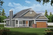 Victorian Style House Plan - 3 Beds 2 Baths 1195 Sq/Ft Plan #20-2225