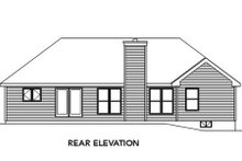 House Plan Design - Traditional Exterior - Rear Elevation Plan #22-465