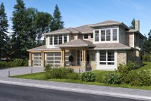 Contemporary Exterior - Other Elevation Plan #1066-80