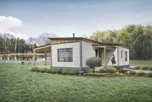 Home Plan - Cabin Exterior - Front Elevation Plan #924-9