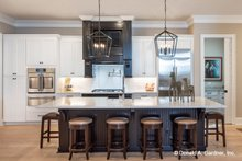 Architectural House Design - Country Interior - Kitchen Plan #929-1006
