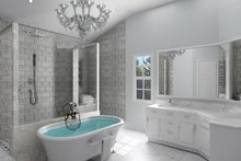 House Plan Design - Ranch Interior - Master Bathroom Plan #119-430