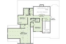 Craftsman Floor Plan - Upper Floor Plan Plan #17-2492