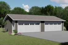 House Plan Design - Country Exterior - Front Elevation Plan #1064-81