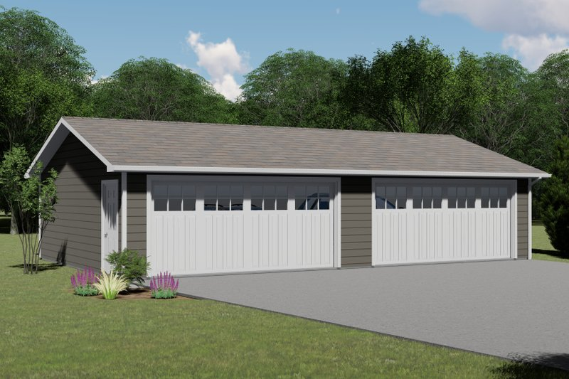 Home Plan - Country Exterior - Front Elevation Plan #1064-81