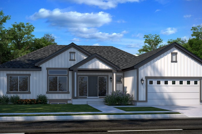 Home Plan - Country Exterior - Front Elevation Plan #1073-23