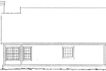 Farmhouse Exterior - Rear Elevation Plan #20-335