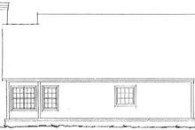 Home Plan - Farmhouse Exterior - Rear Elevation Plan #20-335