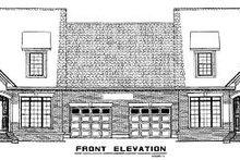 House Plan Design - Traditional Exterior - Other Elevation Plan #17-2008
