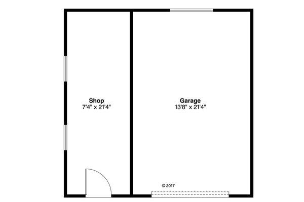 Traditional Floor Plan - Main Floor Plan Plan #124-1040