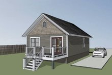 Home Plan - Cottage Exterior - Other Elevation Plan #79-102