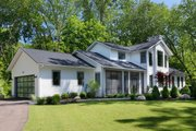 Contemporary Style House Plan - 3 Beds 2 Baths 2491 Sq/Ft Plan #928-326 Exterior - Front Elevation