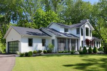 Dream House Plan - Contemporary Exterior - Front Elevation Plan #928-326
