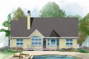 Country Style House Plan - 3 Beds 2 Baths 1488 Sq/Ft Plan #929-421