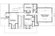 Traditional Style House Plan - 4 Beds 2.5 Baths 2482 Sq/Ft Plan #17-1179 Floor Plan - Upper Floor Plan
