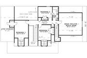 Traditional Style House Plan - 4 Beds 2.5 Baths 2482 Sq/Ft Plan #17-1179 Floor Plan - Upper Floor Plan
