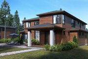 Contemporary Style House Plan - 5 Beds 4.5 Baths 4075 Sq/Ft Plan #1066-17 Exterior - Other Elevation