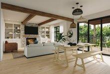 Craftsman Interior - Dining Room Plan #23-2724