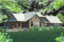 House Design - Craftsman Exterior - Other Elevation Plan #120-184